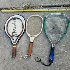 Racquetball Racquet Racket Wilson Cross Court Spalding Kennex Lot Resale Wide