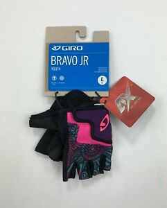 Giro Bravo JR Youth Size Large Cycling Gloves New