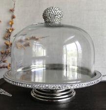 David Tutera Wedding Cake Pastry Rhinestone Crystal Dome