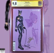 BATMAN #98 JIMENEZ VARIANT COVER CGC 9.8 SS SIGNED BY JAMES TYNION IV CATWOMAN