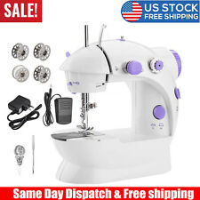 Mini Automatic Dual Speed Double Thread Stitching Electric Pedal Sewing Machine