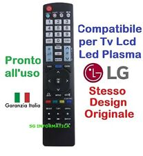 Telecomando universale per tutti i TV LG Lcd Led Smart TV 3D come Originale