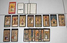 I TAROCCHI EGIZIANI Silvana Alasia - Astra Lo Scarabeo 1998 22 tarot cards Egypt
