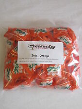 Zotz Fizzy Candy  Orange  Flavor  2 Pounds Aprox 170 Pcs