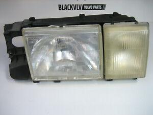 Volvo 740 760 940 960 Right Headlight w/ Foglight OEM Bosch Turbo 1358541