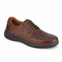 Dockers Mens Maclaren Genuine Leather Dress Casual Rubber Sole Oxford Shoe
