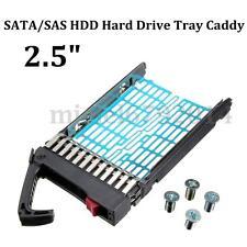 "2.5"" SATA/SAS HDD Hard Drive Tray Caddy f HP Compaq Proliant 378343-002 DL ML BL"