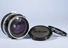 Nikon Nippon Kogaku Nikkor-H 2.8cm 28mm f/3.5 Wide Angle Prime Lens * Read