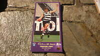 LEIGH COLBERT HAND SIGNED LARGE CADBURY AFL SKILLS CARD