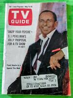 1966 TV Guide Magazine FRANK SINATRA May 14-20 1966 Southern OH Edition Avengers