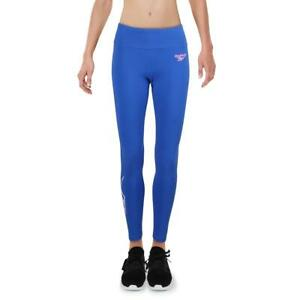 Reebok Womens Blue Fitness Yoga Running Athletic Leggings 2XS BHFO 4672