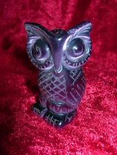 owl carvings set of six new style set no 2