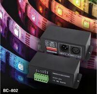 5-24V DMX Decoder Driver WS2811 WS2812B TM1812 TM1804 SK6812 Dimmer Controller