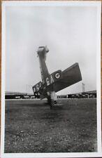 Buche de Potez Airplane 1940s Realphoto French Istres-Aviation Postcard