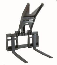 Pallet Fork Grapple Skid Steer Loader Attachment Bobcat Kubota Gehl CAT JCB ASV