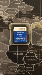 VW RNS 310 315 WESTERN Europe Latest Navigation map 32GB SD card 2020-2021