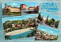 Cartolina - Postcard - Saluti da - Rivergaro - vedutine - 1972  - VG