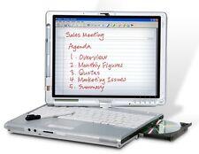 "Fast Fujitsu T4215 12.1""   Core 2 Duo  3 GB RAM 160 HDD DVD Laptop with Pen"