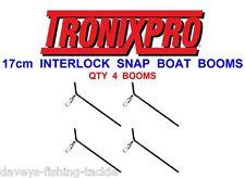 TRONIX 17cm BOAT BOOMS INTERLOCK SNAP SWIVEL FOR SEA FISHING BOAT ROD RIGS LURES