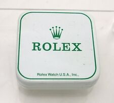 1971 Vintage Rolex Watch Part Tin Box Display Container