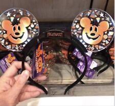 Disney Parks Light Up Halloween Mickey Ears Headband NWT 2018