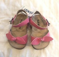 Old Navy Baby Girl Sandals, NWT, 3-6 Months