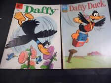 Lot of 2 Dell Comics Daffy #9 and Daffy Duck #30