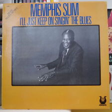 MEMPHIS SLIM I'LL JUST KEEP ON SINGIN' THE BLUES FRENCH LP MUSE RECORDS 1981