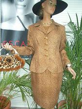 Luxus COUTURE Escada Rock skirt tiger animal leo 42/44 NP1180,CAT gold STATEMENT