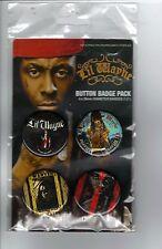 Lil Wayne button badge pack