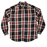 Liz Wear Medium Plaid Long Sleeve Casual Wear Button Up Shirt EUC
