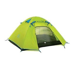 Naturehike 2 Person 3 Season Double Layer Lightweight Hiking Tent – Lime Green