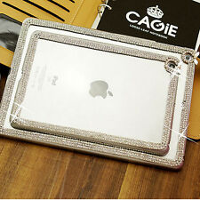 Super Bling Diamond Crystal Clear Hard Back Case Cover For iPad Air 2 6 6th