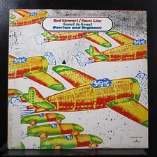 Rod Stewart / Faces - Live Coast To Coast Overture LP VG+ SRM-1-697 Silver Promo