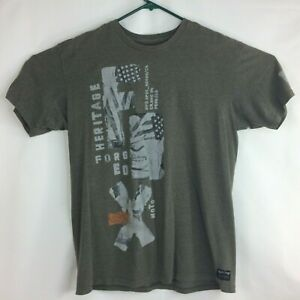 """FOX Racing FX T-Shirt M Heritage Motocross Forged  """"created to destroy"""""""