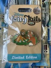 Disney Fairy Tails Pin FairyTails Tod & Copper Fox & The Hound LE 750 Pin