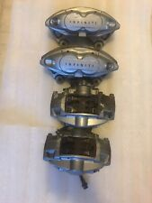 2008-15 INFINITI G37 Q60 coup AKEBONO COMPLETE SET FRONT AND REAR BRAKE CALIPERS