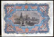 España 50 pesetas 15 Julio 1907 @ Muy Bello @