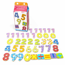 Wooden Fridge Magnet Toys Magnetic Numbers and Maths Symbols 40 pieces