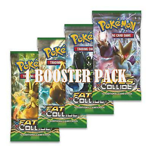 Pokemon Fates Collide Booster Pack. New & Sealed. XY.