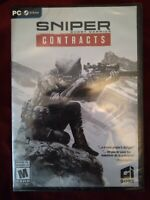 Sniper Ghost Warrior Contracts PC - Brand New Factory Sealed - Never Opened
