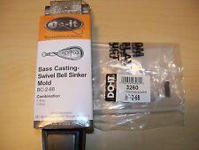 3260 NEW DO-IT SINKER MOLD BASS CASTING #3260 SZ 6, 8 oz., BC-2-68