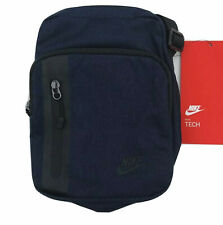 Nike Shoulder Bag Unisex Adjustable Navy Blue Crossbody Tech Small Pack New