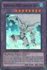 YuGiOh Elemental HERO Absolute Zero - GENF-ENSE1 - Super Rare - Limited Edition
