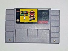 Kaizo Mario 1 - game For SNES Super Nintendo - Platformer - Very hard!