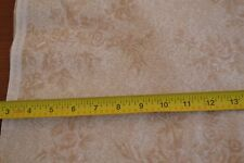 By 1/2 Yd, Tan on Cream Quilting, RJR/Somerset Cottage/Pandolph/0025-4, M8954
