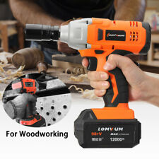 Rechargeable Cordless Torque 280N.m Impact Wrench 2800RPM + 12000mAh   ^Y)