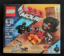 The Lego Movie Batman and Super Angry Kitty Attack 70817 New Factory Sealed