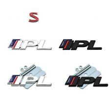 3D New IPL 3.7 S Metal Emblem Badge Decal Grille Trunk Logo Sticker for Q50 Q50L