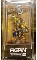 SDCC 2019 FiGPiN World of Warcraft WoW Warchief Thrall Pin Blizzard Blizzcon NEW